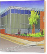 Catonsville Middle School Wood Print