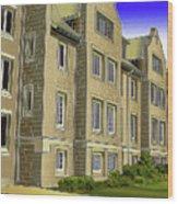 Catonsville United Methodist Church Wood Print
