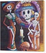 Catrina Group Wood Print