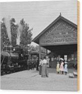 Catskill Railroad Wood Print