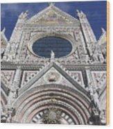 Cattedrale Di Siena Wood Print