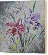 Cattleya Wood Print