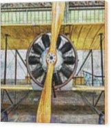 Caudron G3 Propeller - Vintage Wood Print