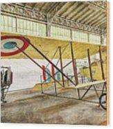 Caudron G3 - Vintage Wood Print