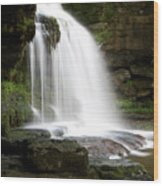Cauldron Falls, West Burton, North Yorkshire Wood Print