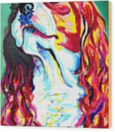 Cavalier - Herald Wood Print by Alicia VanNoy Call