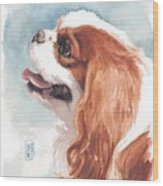 Cavalier Profile Wood Print