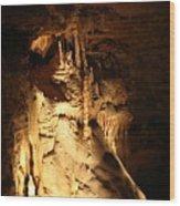 Cave 11 Wood Print
