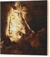Cave 12 Wood Print