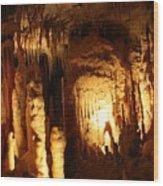 Cave 8 Wood Print