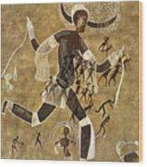 Cave Art Wood Print