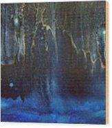 Cave Dwellers Wood Print