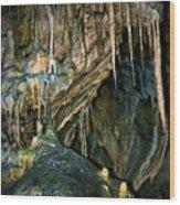 Cave03 Wood Print by Svetlana Sewell