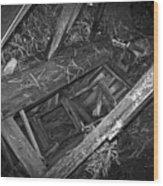 Caved Audit Wood Print