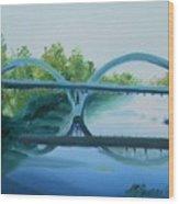 Caveman Bridge Grants Pass Oregon Wood Print