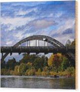 Caveman Bridge Wood Print
