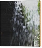Cavern Cascade Watkins Glen Wood Print by InTheSane DotCom