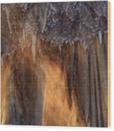 Cavernous Moods Wood Print