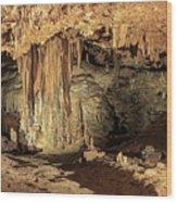 Caverns Wood Print