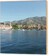 Cavtat, Croatia Wood Print