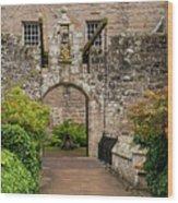 Cawdor Castle Entrance Wood Print