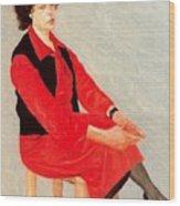 Cawpq3cp Avigdor Arikha Wood Print