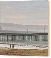 Caycous Pier II Wood Print