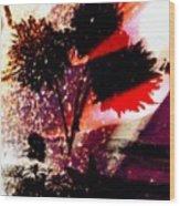 Cayenne Floral Wood Print