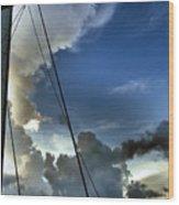 Cayman Nite Sky Wood Print