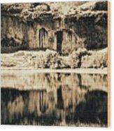 Columbia Basin Abstract Wood Print