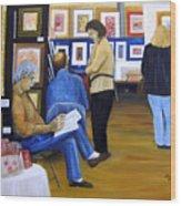Cba Art Show 2008 Wood Print