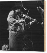 Cdb Winterland 12-13-75 #10 Crop 2 Wood Print