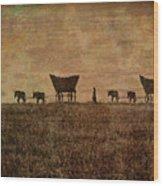Pioneers Wood Print