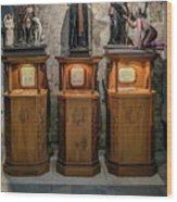Cebu Statues Wood Print
