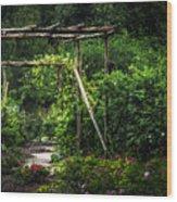 Cedar Arbor Wood Print