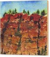 Cedar Breaks Wood Print