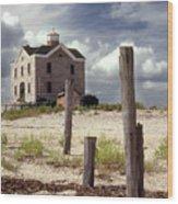 Cedar Island Lighthouse Long Island New York Wood Print