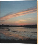 Cedar Key Sunset 2 Wood Print