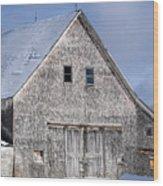 Cedar Shake Barn Wood Print