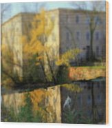 Cedarburg Creek Charm Wood Print