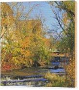 Cedarcreek Fall Wood Print