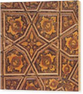 Ceiling Design Wood Print
