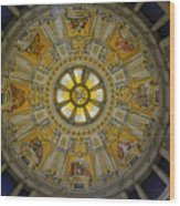 Ceiling Of The Berlin Cathedral Wood Print