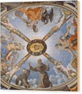 Ceiling Of The Chapel Of Eleonora Of Toledo Wood Print