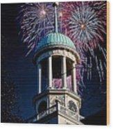 Celebrate Bethlehem Wood Print