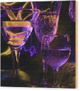 Celebration Of Light Wood Print by Barbara  White