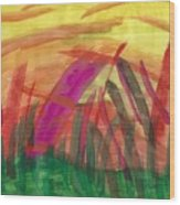 Celebration Of Spring Wood Print