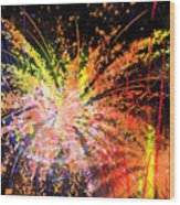 Celebration Wood Print