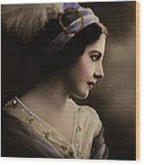 Celeste Aida Wood Print