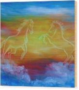 Celestial Dream Wood Print